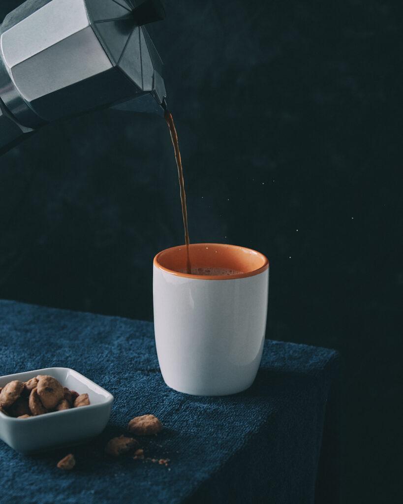 Tarde de café y galletas