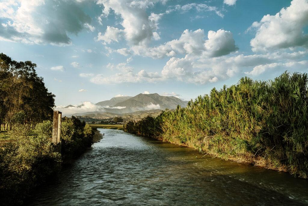 Puente en Urrao, Antioquia.