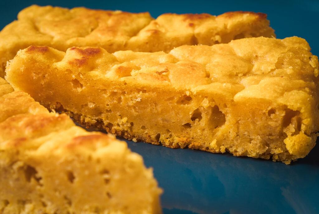 Torta de auyama y queso