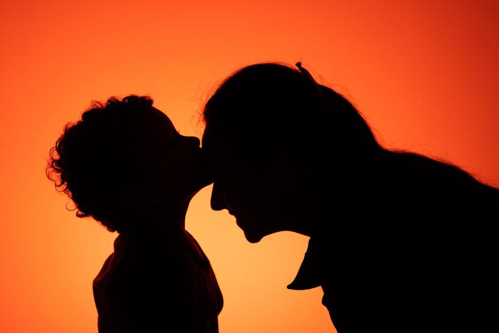 Un beso con el alma
